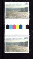 837801877 1984-87 SCOTT L67 POSTFRIS MINT NEVER HINGED EINWANDFREI (XX)  GUTTERPAIR ICEBERG ALLEY MAWSON - Territoire Antarctique Australien (AAT)