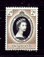 Swaziland 54 MNH 1953 QEII Coronation - Swaziland (1968-...)