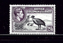 Solomon Is 77 MNH 1939 Birds - Iles Salomon (...-1978)