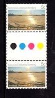 837803449 1984-87 SCOTT L60 POSTFRIS MINT NEVER HINGED EINWANDFREI (XX)  GUTTERPAIR SUMMER AFTERNOON - Territoire Antarctique Australien (AAT)