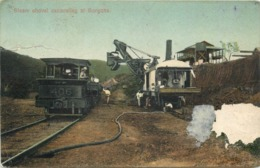 PANAMA - Steam Shovel Excavating At Gorgona (carte Vendue En L'état) - Panama