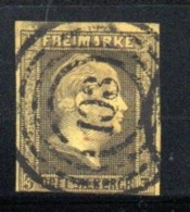 Prusse  / N 5 / 3 S Noir Sur Jaune   /  Oblitéré / Côte 18 € - Preussen
