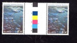 837804814 1984-87 SCOTT L69 POSTFRIS MINT NEVER HINGED EINWANDFREI (XX)  GUTTERPAIR BRASH ICE - Territoire Antarctique Australien (AAT)