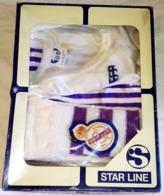 ANTIGUO EQUIPAJE INFANTIL DEL REAL MADRID DE BALONCESTO - STAR LINE, AÑOS 80 - Bekleidung, Souvenirs Und Sonstige