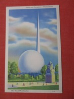 Trylon  & Perisphere --------- 1939 NY Worlds Fair--    Ref 3621 - Exhibitions