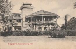Singapore - Tanjong Katong Villa - Singapore
