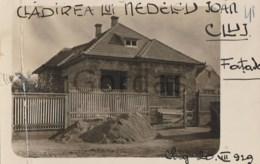 Romania - Cluj - Cladirea Nedelcu Ioan - 1929 - Damaged Postcard - Romania