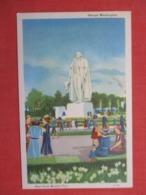 George Washington  ----- 1939 NY Worlds Fair--    Ref 3621 - Exhibitions