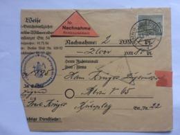 GERMANY 1954 Berlin Nachnahme Cover Berlin Marks With Sonderstempel - [5] Berlino