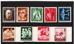 RAD347 DEUTSCHES REICH 1944  MICHL 864/72 ** Postfrisch Siehe ABBILDUNG - Deutschland