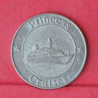USA    - CRUISES PRINCESS 5,7 GRS - 24 MM DIM      - (Nº30989) - Casino