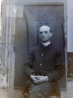 PARIGNY (42) : M. De Marle, 1890. Plaque De Verre. Lire Descriptif - Plaques De Verre