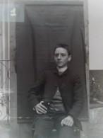 PARIGNY (42) : Victor De Marle, 1890. Plaque De Verre. Lire Descriptif - Plaques De Verre