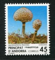 SALE  Andorra 1991 Mi 223 Mushroom MNH - Pilze