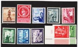 RAD249 DEUTSCHES REICH 1944  MICHL 886/95 ** Postfrisch Siehe ABBILDUNG - Unused Stamps