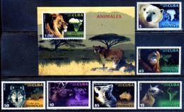 Cuba 2011 / Fauna Mammals MNH Mamíferos Säugetiere / Cu5508  36-53 - Sellos