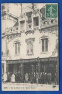 REIMS      Taverne Select  Rue De L'Etape        Animées    écrite En 1912 - Reims