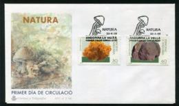 SALE  Andorra 1996 Mi 246-247 Mushroom FDC - Pilze