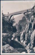 POSTAL SUIZA - CHATELARD - VALAIS - LE VIADUC SUR L'EAU NOIRE - 1125 - ED ART PERROCHE - CIRCULADA - VS Valais