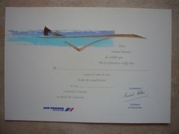 Avion / Airplane / AIR FRANCE / Concorde / Airline Issue / Passage Du Mur Du Son / Size : 18,5X27cm - 1946-....: Ere Moderne