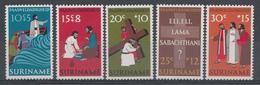 Surinam 1973 Mi.nr.:646-650 Ostern  Neuf Sans Charniere / MNH / Postfris - Surinam