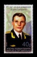Abkhazia 2019 Mih. 1034 Space. Yuri Gagarin MNH ** - Georgia