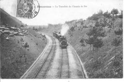 RONCEVAUX - La Tranchée Du Chemin De Fer - Train - Francia