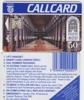 Ireland  Phonecard - Trinity 400 (SC4) Dame Lane - Ierland