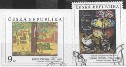 REPUBBLICA CECA - 1996 - EDIFICI STORICI - SERIE CPL. 2 VAL. USATI ( YVERT 127/128 -  MICHEL 130/131) - Tschechische Republik