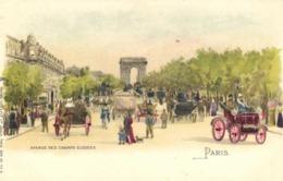 Illustrateur PARIS AVENUE DES  CHAMPS ELYSEES  Raphael TUCK & Fils - Paintings