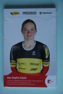 CYCLISME: CYCLISTE : EQUIPE  TOPSPORT FEMININE 2015 COMPLETE - Ciclismo