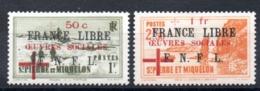 S.P.M. - YT N° 310-311 - Neufs * - MH - Cote: 200,00 € - St.Pedro Y Miquelon