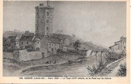 OUDON - ( 44 ) - La Tour ( XIVe ) - Oudon