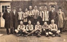Bruxelles - St-Gilles - Equipe 1ere De L' Union St. Gilloise - 1912/1913 - Football - Un Trou De Punaise - St-Gilles - St-Gillis