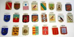 Lot De 23 Emblèmes Actuels De Différentes Séries - Charity, Aumône - Documentos Históricos