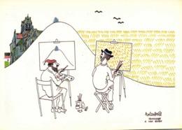 ROLANDAEL Hommage à Van Gogh Association Cartophises Du Val D'Oise 26 27 Mai 1990 RV 2500ex - Bourses & Salons De Collections