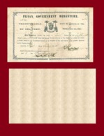 Fiji 10 Dollars 1871 - Fidji