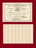 Fiji 10 Dollars 1871 - Fiji