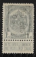 Roeselaere  1908  Nr. 1153B - Precancels