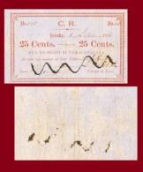 Fiji 25 Cents 1873 - Fiji