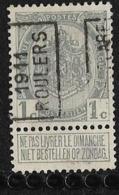 Roeselaere  1911  Nr. 1648A - Precancels
