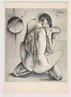 TREMOIS Pierre Yves  Ed Frederic Birr  -  Etreinte Couple Femme  - CPM 14,5x21 BE 1985 Neuve - Illustrators & Photographers