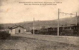 ROUGEMONT LE CHATEAU  - Gare Des Chemins De Fin D'intérêt Local - Rougemont-le-Château