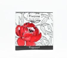 échantillons De Parfum  POCHETTE  PIVOINE EDT   De  FRAGONARD  EDP   2 Ml - Echantillons (tubes Sur Carte)