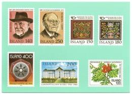 ISLAND ISLANDE - Timbres De 1980 - Stamps Of 1980 - Neuve/Mint Non écrite - Europa - Timbres (représentations)