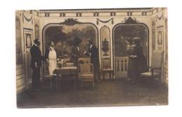 CARTE PHOTO   CAMP DE PRISONNIERS ALLEMAGNE - FRIEDRICHSFELD GUERRE 14 -PIECE DE THEATRE - - Oorlog 1914-18