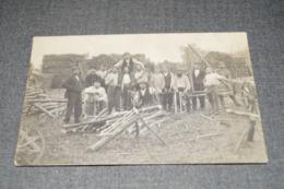 Très Ancienne Belle Carte Pour Collection,Haut-Fays,ouvriers Du Bois,RARE,1910,oblitération De Vonèche - Daverdisse