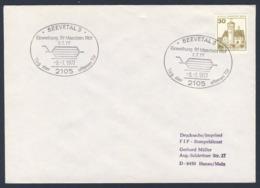 Deutschland Germany 1977 Brief Cover - Einweihung Rangier - Bahnhof Maschen, Seevetal / Railway Station - Treinen