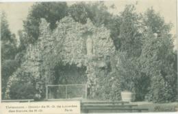 Tirlemont 1905; Grotte De N.-D. De Lourdes Des Soeurs De N.-D. - Voyagé. (éditeur?) - Tienen
