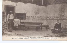 CPA 1157 - AUTRY Le Café De La Gare Ou Subsiste Des Peintures Murales Faites Par Les Boches - France